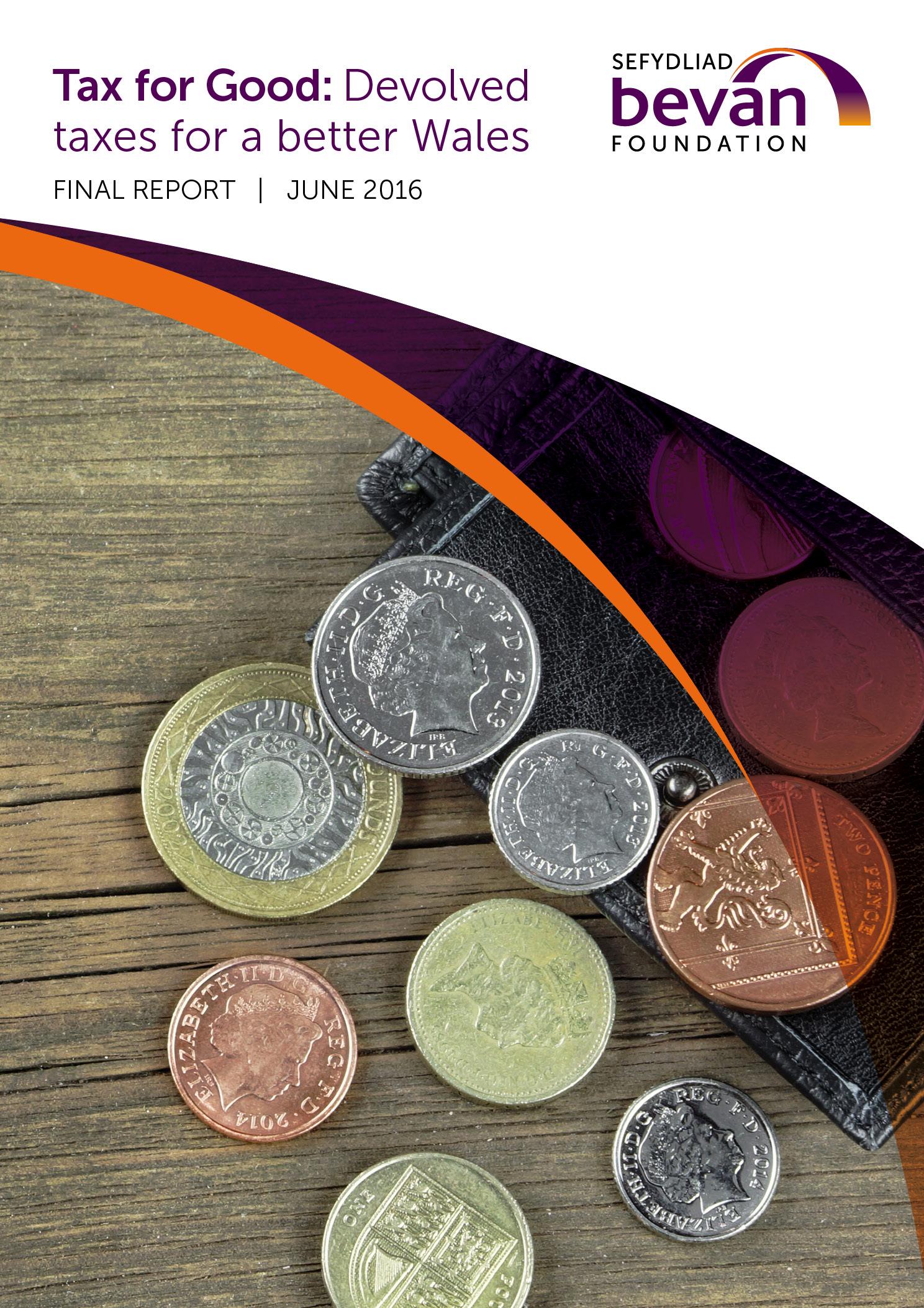 Bevan Tax Report 2016 cover2