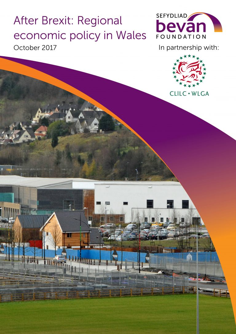 After Brexit Regional Economic Policy In Wales Bevan Foundation