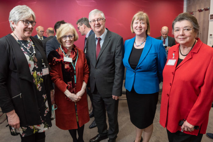 Bevan Foundation with First Minister