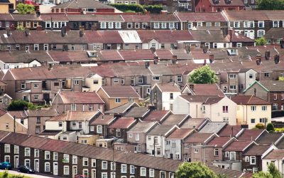 A photo of a Welsh Valleys town