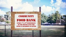 Community spirit; food bank