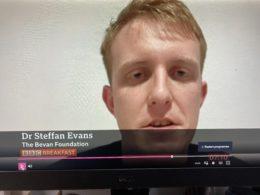 Steffan Evans on BBC Breakfast