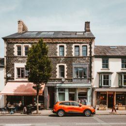 Street Scene of Machynlleth