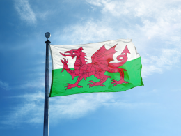 Picture of Welsh flag