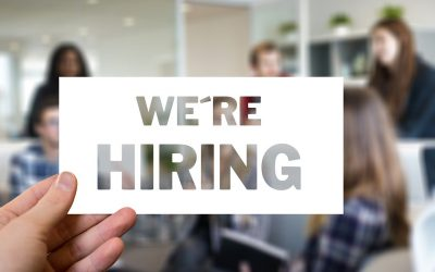 Image with words 'hiring'