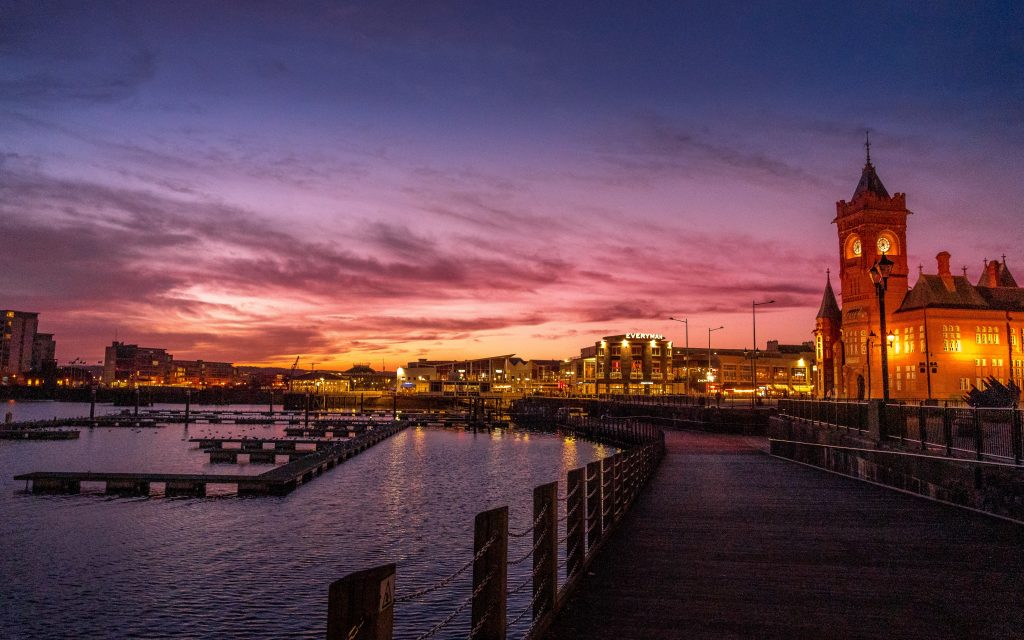 A picture of Cardiff Bay
