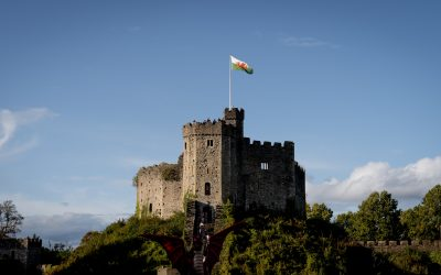 A picture of Cardiff Castle