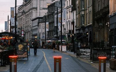A photo of Cardiff High Street