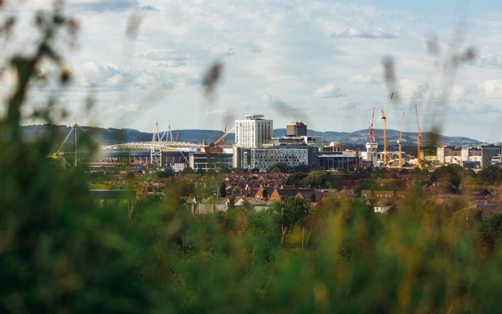 A picture of Cardiff